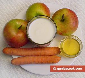 Морковно-яблочный шейк