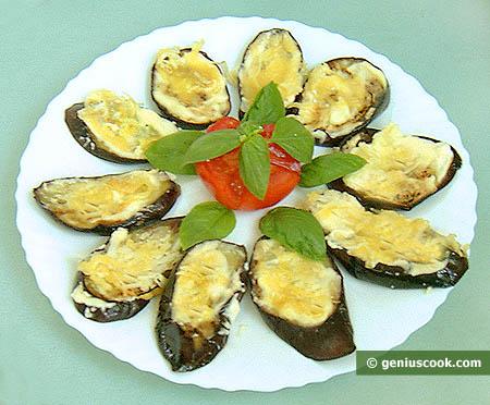 Баклажаны запечённые с сыром