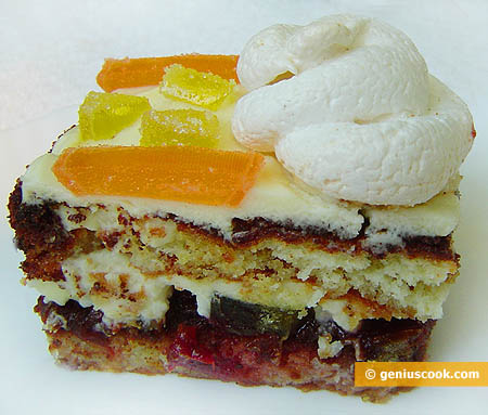 Торт с мармеладом
