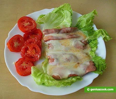 Готовые сосиски с сыром таледжио