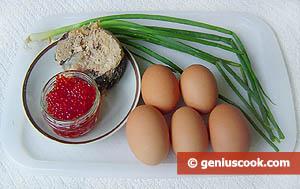 Uova al caviale rosso ingredienti