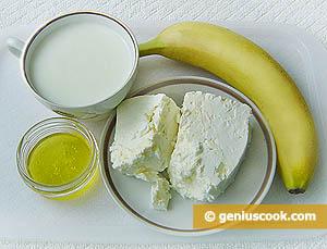творожно-банановый крем