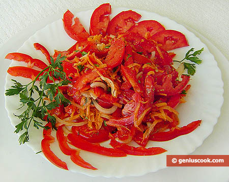Красный салат
