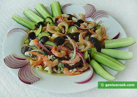 Салаты из морепродуктов - простые и экзотические, популярные и...