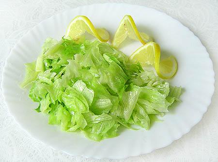 Готовый салат Айсберг