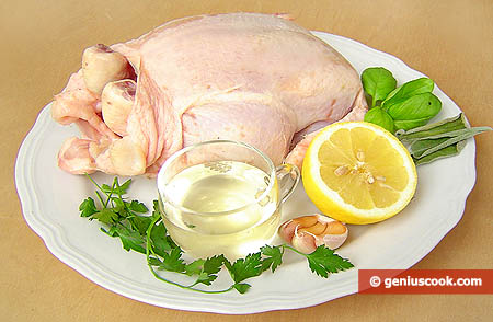 Ингредиенты для курицы гриль