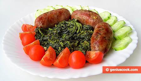Колбаски с фриариелли