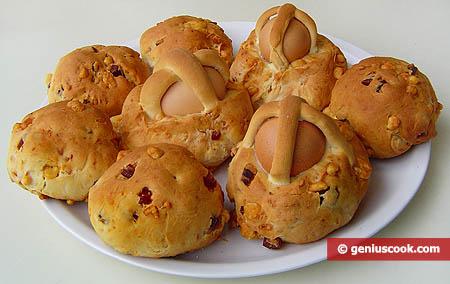 Неаполитанские булочки