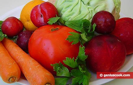 Фрукты и овощи, полезные для беременных