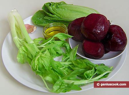 Ингредиенты для свекольного салата