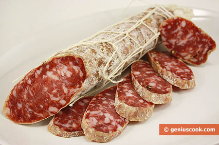 Саламе ди Фелино, сыровяленая колбаса