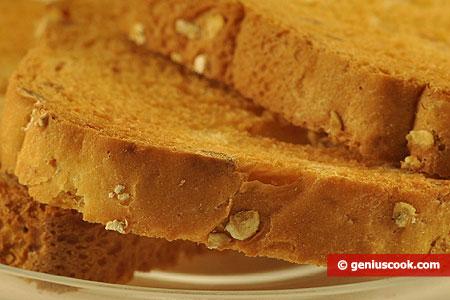 Хлебцы с добавлением цельного зерна