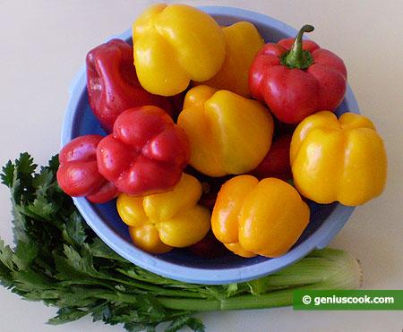 Ингредиенты для маринованного перца