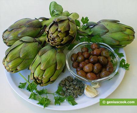 Ингредиенты для соуса из артишоков
