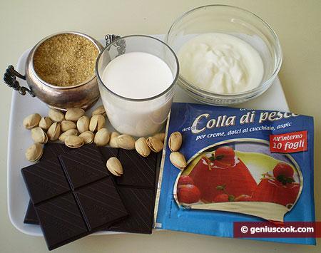 Ингредиенты для Панна Котта