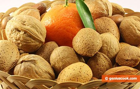 Орехи и цитрусовые