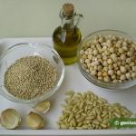 Ингредиенты для классического хумуса