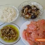 Ингредиенты для рисового салата