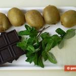 Ингредиенты для желе с киви и мятой