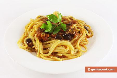 Спагетти алла путанеска
