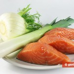 Ингредиенты для лосося с фенхелем