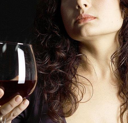 Женщина и вино