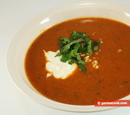 Овощной, диетический крем суп
