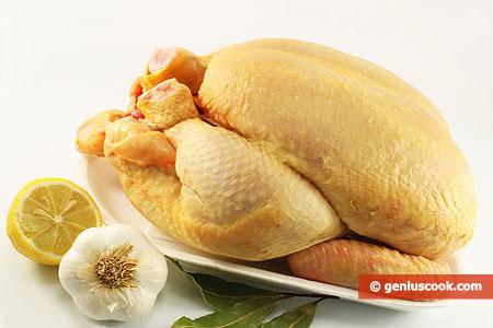 Ингредиенты для курицы запечённой