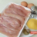 Ингредиенты для куриного филе с пряными травами