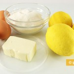 Ингредиенты для лимонного крема