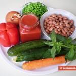 Ингредиенты для овощного крем супа