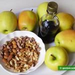 Ингредиенты для печёных яблок