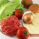 Ингредиенты для гамбургера