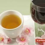Красное вино и зелёный чай