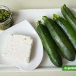 Ингредиенты для цуккини с сыром и Песто