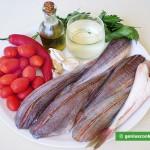 Ингредиенты для морской курицы по-неаполитански