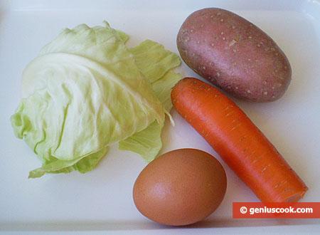 Ингредиенты для детского супа-пюре