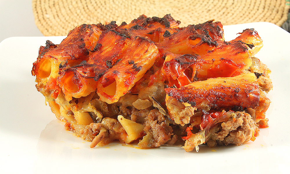 Паста аль Форно. Макароны с Мясом и Сыром