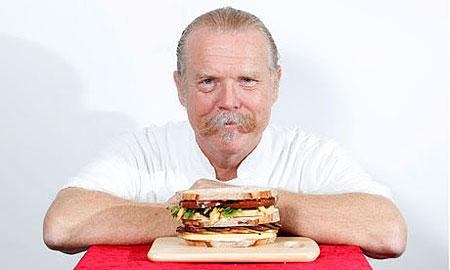 Мартин Бланос и его бутерброд