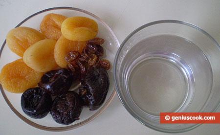 Ингредиенты для фруктов в алкоголе
