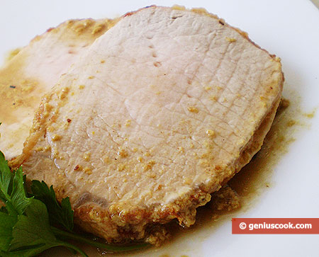 Мясо тушёное в молочном соусе карри