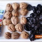 Ингредиенты для чернослива с орехами