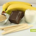 Ингредиенты для бананов в шоколаде