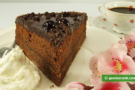 Кусочек Захер торта