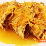 Блинчики Сюзетт в апельсиновом соусе