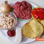 Ингредиенты для буррито
