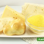 Ингредиенты для поленты четыре сыра