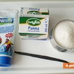 Ингредиенты для сливочной помадки