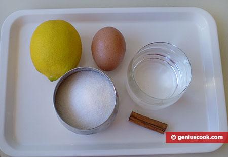 Ингредиенты для Писко Сур