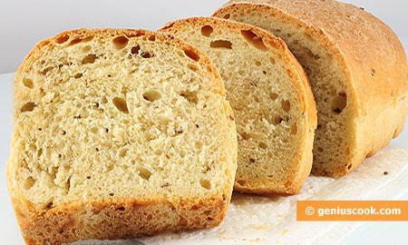 Хлеб с кунжутом и семолой